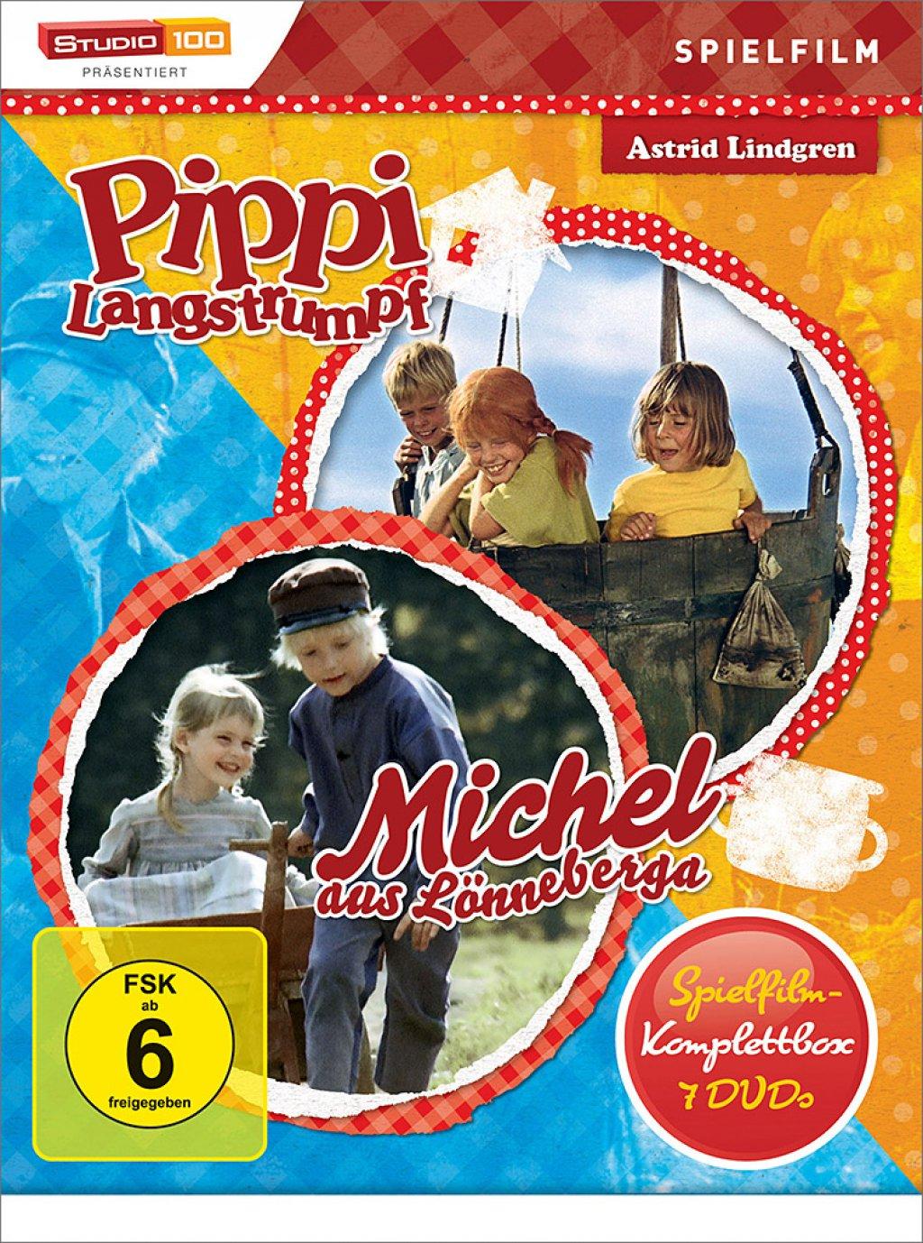 Pippi Langstrumpf & Michel - Spielfilm-Box / 2. Auflage (DVD)