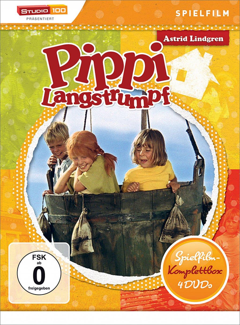 Pippi Langstrumpf - Spielfilm-Edition / 3. Auflage (DVD)