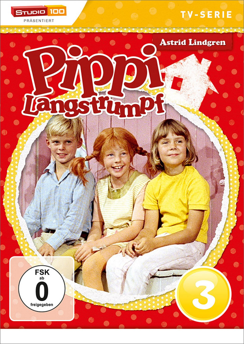 Pippi Langstrumpf - TV-Serie / DVD 3 (DVD)