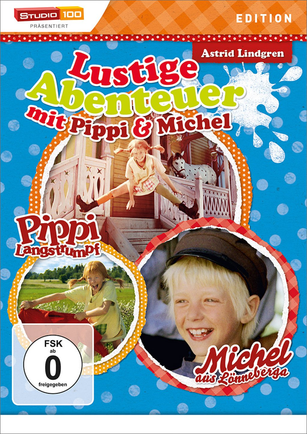 Lustige Abenteuer mit Pippi & Michel (DVD)