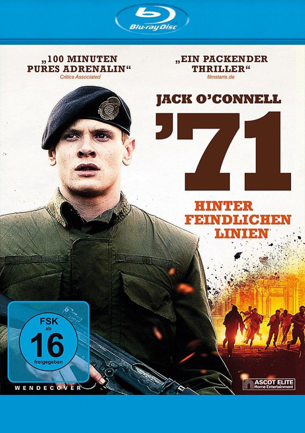 `71 - Hinter feindlichen Linien (Blu-ray)