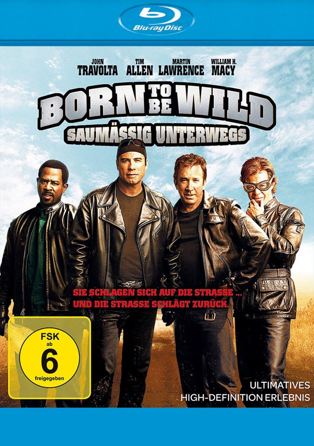 Born to be Wild - Saumäßig Unterwegs (Blu-ray)