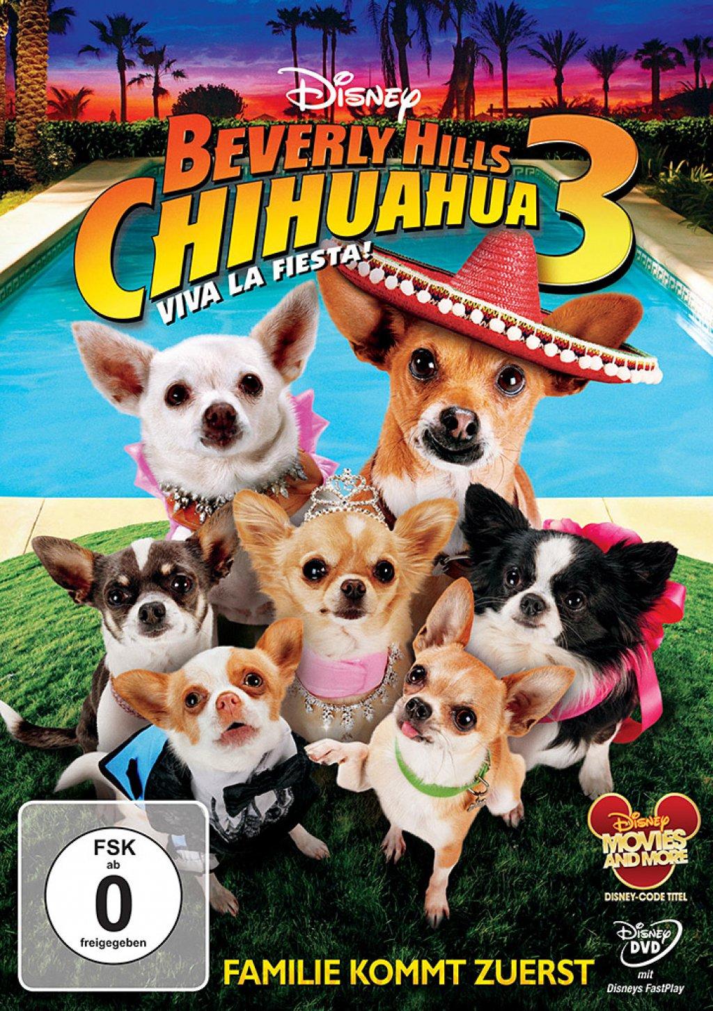 Beverly Hills Chihuahua 3 - Viva la Fiesta! (DVD)