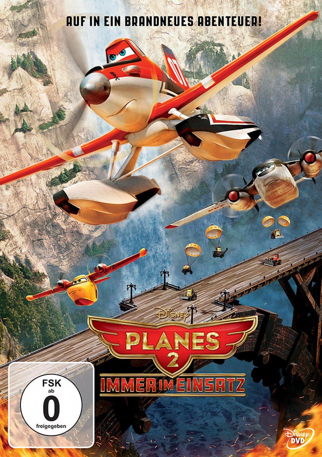 Planes 2 - Immer im Einsatz (DVD)