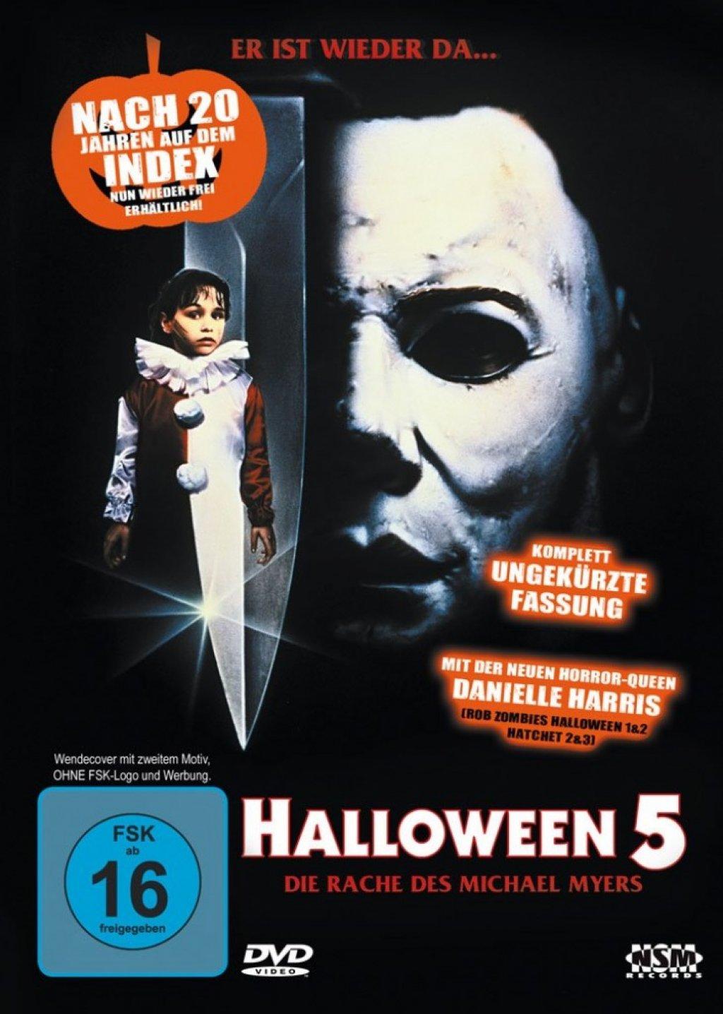 Halloween 5 - Die Rache des Michael Myers (DVD)