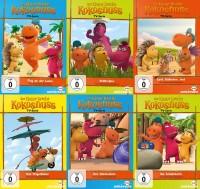 Der kleine Drache Kokosnuss - TV-Serie - Teil 1-6 Set (DVD)
