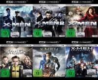 X-Men 1-6 4K Collection im Set - 4K Ultra HD Blu-ray + Blu-ray (Ultra HD Blu-ray)
