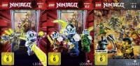 LEGO Ninjago: Masters of Spinjitzu - Staffel 12.1 + 12.2 + 12.3 im Set (DVD)