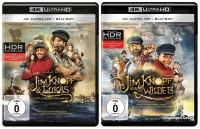 Jim Knopf & Lukas der Lokomotivführer + Jim Knopf und die Wilde 13 / im Set - 4K Ultra HD Blu-ray + Blu-ray (4K Ultra HD)