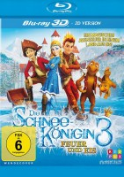 Die Schneekönigin 3 - Feuer und Eis - Blu-ray 3D + 2D (Blu-ray)