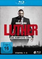 Luther - Staffel 1-5 (Blu-ray)