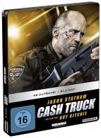 Cash Truck - 4K Ultra HD Blu-ray + Blu-ray / Limited Steelbook Edition (4K Ultra HD)