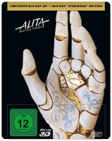 Alita: Battle Angel - Blu-ray 3D + 2D / Steelbook (Blu-ray)