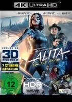 Alita: Battle Angel - 4K Ultra HD Blu-ray + Blu-ray 3D + 2D - Erstauflage im Schuber (4K Ultra HD)