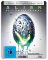 Alien - Das unheimliche Wesen aus einer fremden Welt - 40th Anniversary / 4K Ultra HD Blu-ray + Blu-ray / Limited Steelbook (4K Ultra HD)