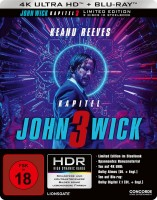 John Wick: Kapitel 3 - 4K Ultra HD Blu-ray + Blu-ray / Limited Steelbook (4K Ultra HD)