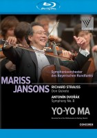 Richard Strauss Don Quixote & Antonin Dvorak Symphony No. 8 (Blu-ray)