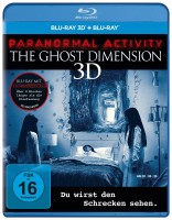 Paranormal Activity - Ghost Dimension 3D - Extended Cut / Blu-ray 3D + 2D (Blu-ray)