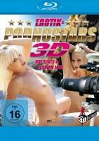 Erotik- & Pornostars 3D - Hot Girls & Lesbian Love - Blu-ray 3D (Blu-ray)