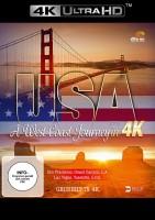 USA - A West Coast Journey in 4K - 4K ULTRA HD (Ultra HD Blu-ray)