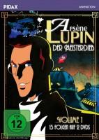 Arsène Lupin, der Meisterdieb - Pidax Animation  / Vol. 1 (DVD)