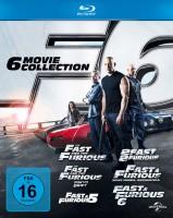 Fast & Furious 1-6 (Blu-ray)