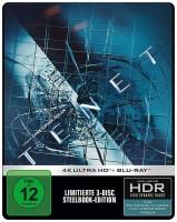Tenet - 4K Ultra HD Blu-ray + Blu-ray / Limited Steelbook (4K Ultra HD)