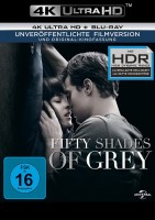 Fifty Shades of Grey - Geheimes Verlangen - 4K Ultra HD Blu-ray + Blu-ray (4K Ultra HD)