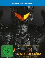 Pacific Rim - Uprising - Blu-ray 3D + 2D / Limited Steelbook (Blu-ray)