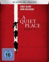 A Quiet Place 2 - 4K Ultra HD Blu-ray + Blu-ray / Limited Steelbook (4K Ultra HD)