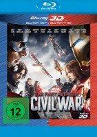 The First Avenger: Civil War - Blu-ray 3D + 2D (Blu-ray)
