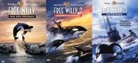 Free Willy 1 - Ruf der Freiheit + Free Willy 2 - Freiheit in Gefahr + Free Willy 3 - Die Rettung / Set (DVD)
