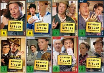 Hausmeister Krause - Ordnung muss sein - Die komplette Serie - Staffeln 1-8 im Set (DVD)