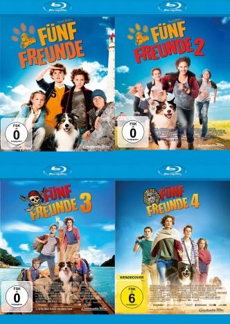Fünf Freunde 1-4 Set (Blu-ray)