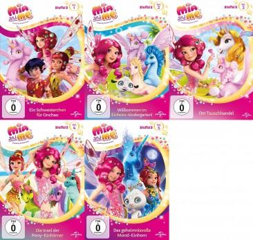 Mia And Me Staffel 3 Vol 1 5 Set Dvd