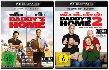 Daddys Home 12 Set 4k Ultra Hd Blu Ray Blu Ray 4k Ultra