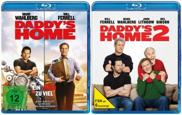 Daddys Home 12 Set Blu Ray