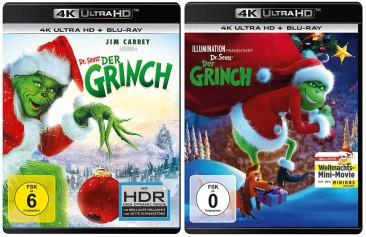 Der Grinch + Der Grinch als Animationsfilm - Set (4K Ultra HD Blu-ray)