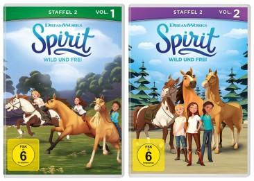 Spirit - Wild und Frei - Staffel 2 / Vol. 1+2 (DVD)