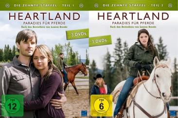 Heartland - Paradies für Pferde - Staffel 10 / Teil 1+2 - Set (DVD)