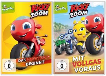 Ricky Zoom - Das Abenteuer beginnt + Ricky Zoom - Mit Vollgas voraus (DVD)