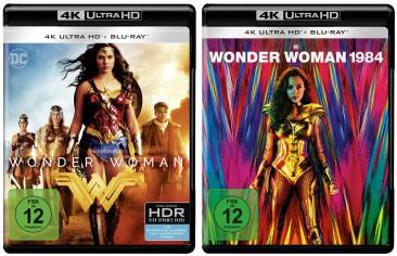 Wonder Woman + Wonder Woman 1984 - 4K Ultra HD Blu-ray Set (4K Ultra HD)