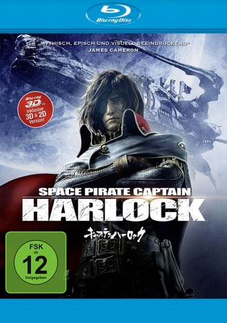 Space Pirate Captain Harlock - Blu-ray 3D + 2D (Blu-ray)