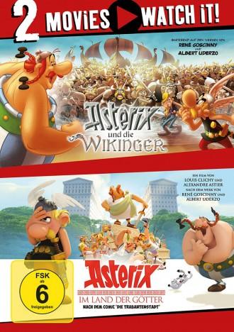 Asterix und die Wikinger & Asterix im Land der Götter - 2 Movies (DVD)