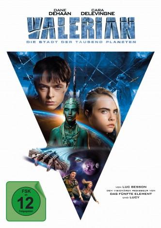 Valerian - Die Stadt der tausend Planeten - 4K Ultra HD Blu-ray + Blu-ray / Mediabook / Cover C (4K Ultra HD)