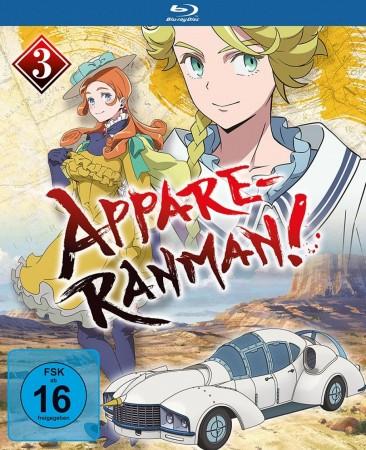 Appare-Ranman! - Vol. 3 / Episode 9-13 (Blu-ray)