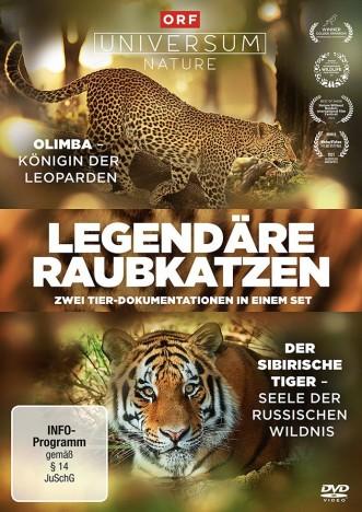 Legendäre Raubkatzen (DVD)