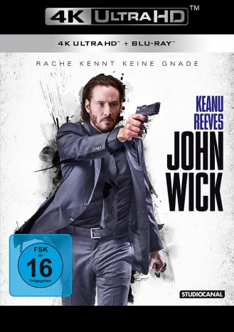 John Wick - 4K Ultra HD Blu-ray + Blu-ray (Ultra HD Blu-ray)