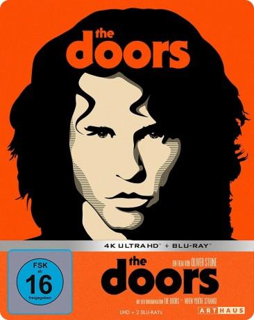 The Doors - 4K Ultra HD Blu-ray + Blu-ray / Limited Steelbook Edition (4K Ultra HD)