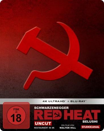 Red Heat - 4K Ultra HD Blu-ray + Blu-ray / Limited SteelBook Edition (4K Ultra HD)